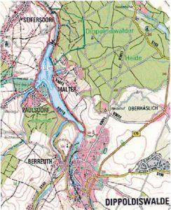 Karte: Stadtverwaltung Dippoldiswalde