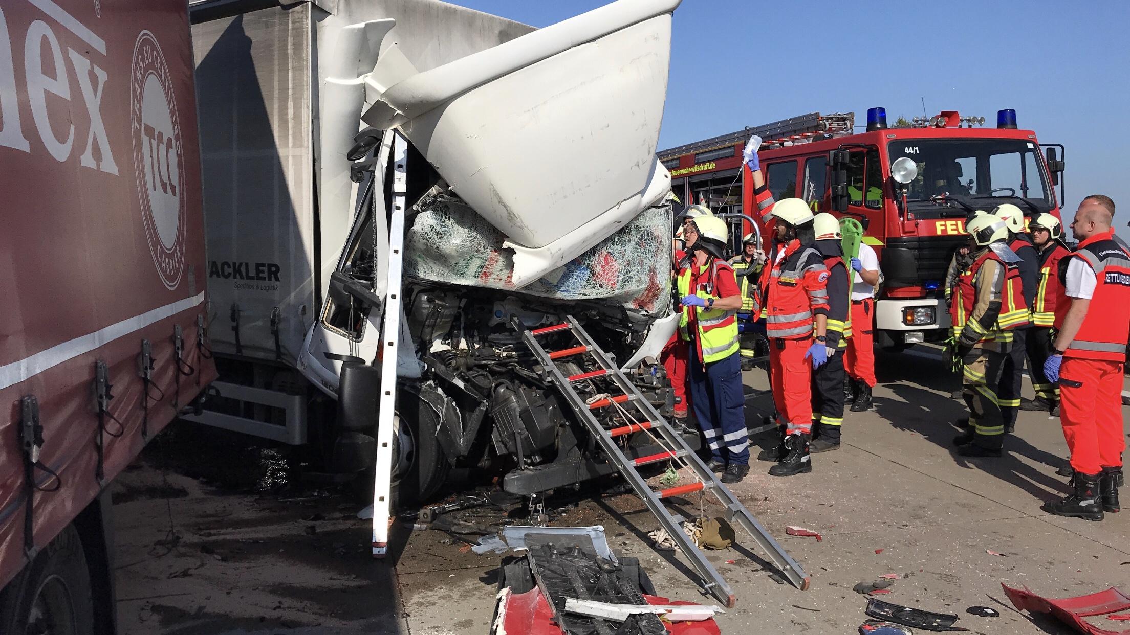 A4 Lkw Unfall