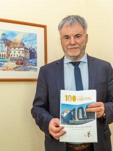 """Erstes Programmheft für """"100 Jahre Freital"""" liegt vor"""