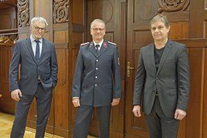 Neuer Stadtwehrleiter in Freital